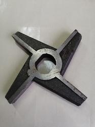 Нож (d сетки - 105мм) для электромясорубки МИМ-500, МИМ-600, МИМ-632