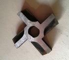 Фрезерованный нож для электромясорубки МИМ-300 (d сетки - 82мм)