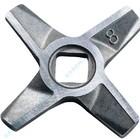 Нож для мясорубки Zelmer №8/2 двухсторонний Оригинал+втулка в подарок