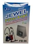 Комплект мешков-пылесборников Jewel FB 06(одноразовые, 5шт.)