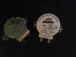 Двигатель для вращения тарелки СВЧ  220 В
