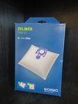 Комплект мешков для пылесоса Zelmer, код 49.4000 WORWO Оригинал