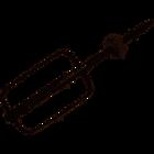 Венчик для взбивания (правый) блендера Delonghi KF205C YF3005