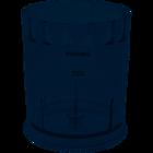 Чаша измельчителя 1000ml CP9714/01 для блендера Philips 420303607811
